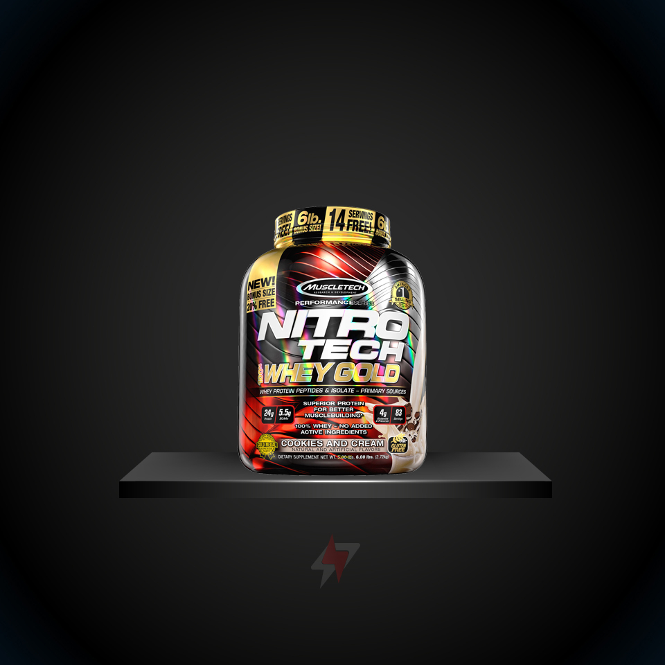 NITRO TECH™ WHEY GOLD